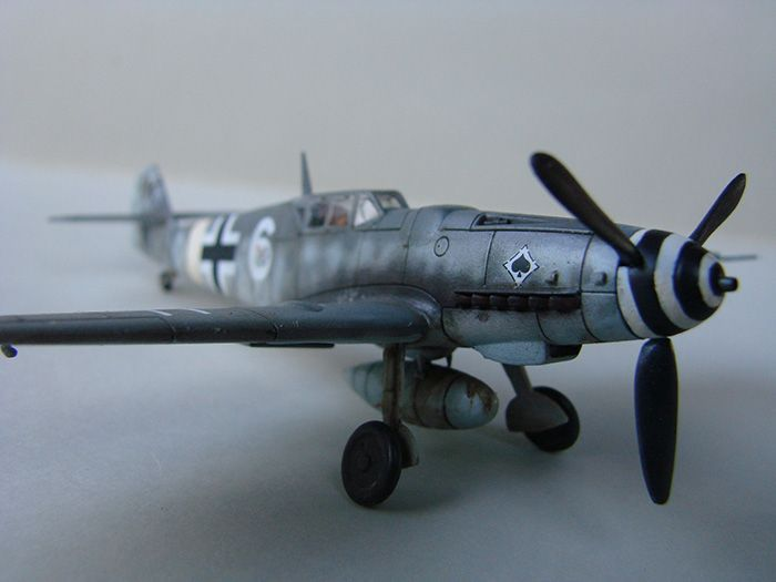 Messerschmitt Bf-109G-6, Airfix, 1/72 DSC05059