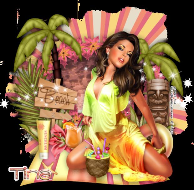 Tina's July - September Pick Up Thread Tina-2018luau