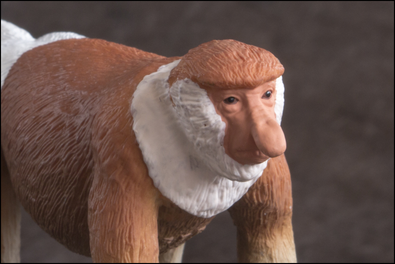 The MOJÖ FUN Proboscis monkey: A walkaround by Kikimalou Proboscismonkey_MOJO-13.jpg_original