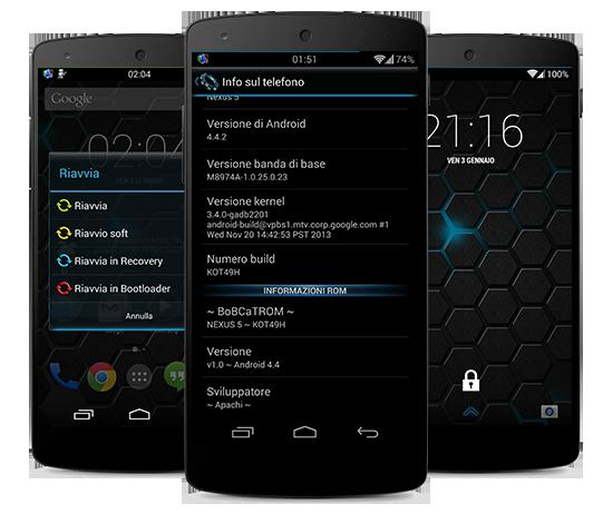 [ROM][KOT49H][KK 4.4.2]~ BoBCaTROM NX v2.0 ~[OTA UPDATE][18/01/2014] Nexus4