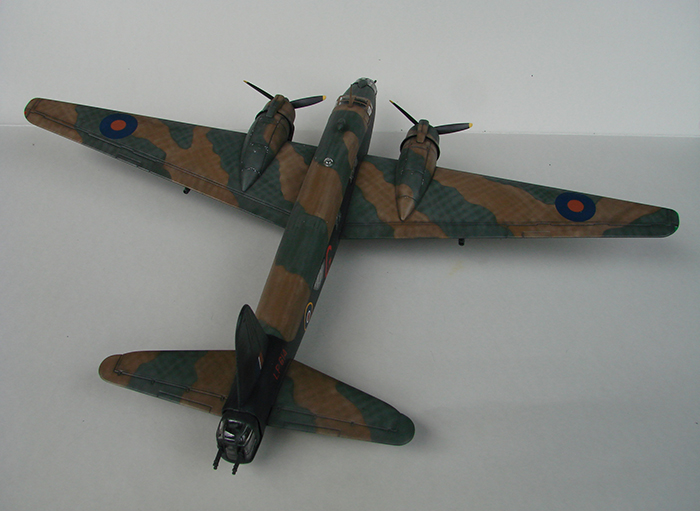 Vickers Wellington Mk.X, Revell, 1/72 DSC04675
