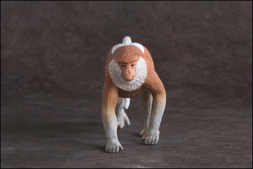 The MOJÖ FUN Proboscis monkey: A walkaround by Kikimalou Proboscismonkey_MOJO-10.jpg_original