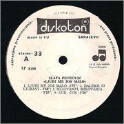 Zlata Petrovic -Diskografija Strana_A