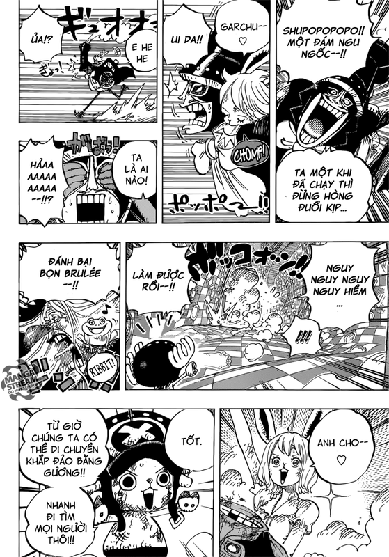 One Piece Chapter 849: Anh Cho trong thế giới gương Image