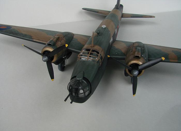 Vickers Wellington Mk.X, Revell, 1/72 DSC04674