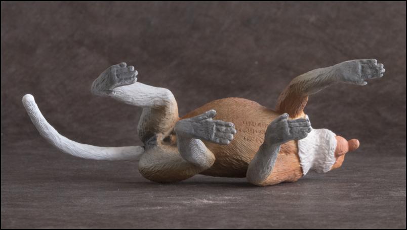 The MOJÖ FUN Proboscis monkey: A walkaround by Kikimalou Proboscismonkey_MOJO-17.jpg_original