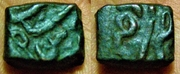 Malwa, Sultán Akbar. 1556-1605. 1 Tanka, cobre, 3,1 grs aprox. Principado Estado India 1_tanka_malwa_1556