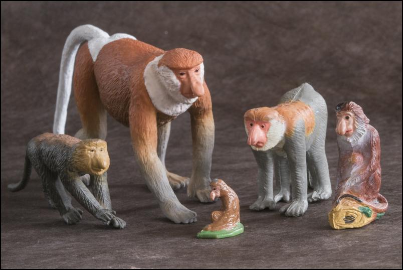 The MOJÖ FUN Proboscis monkey: A walkaround by Kikimalou Proboscismonkey_MOJO-25.jpg_original