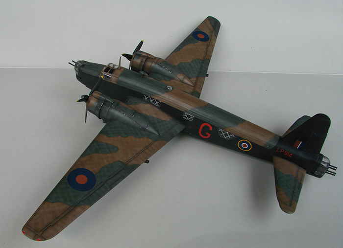 Vickers Wellington Mk.X, Revell, 1/72 DSC04684