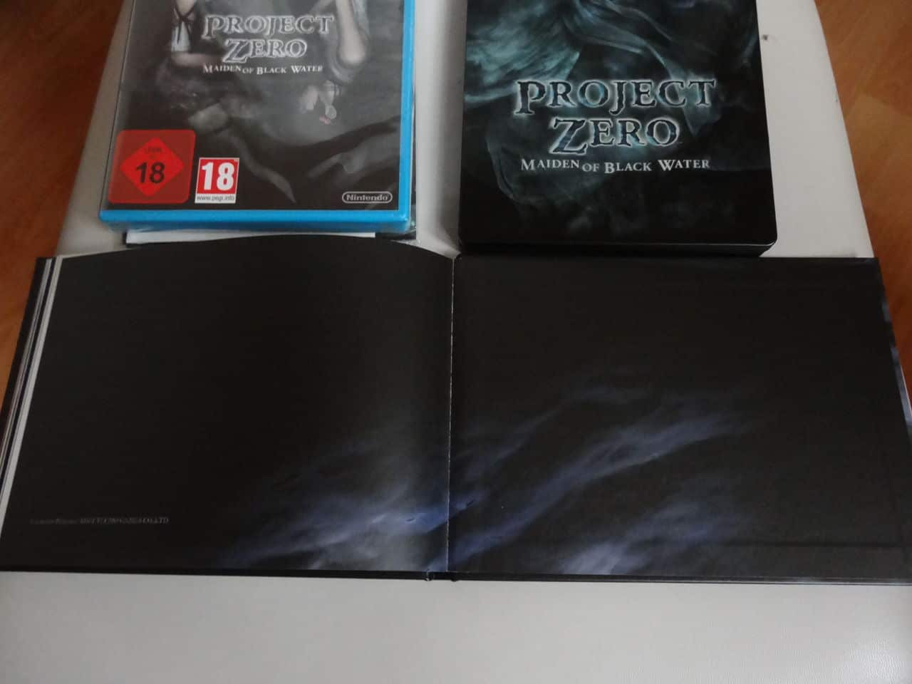 Project Zero Collector Wii U DSC02418