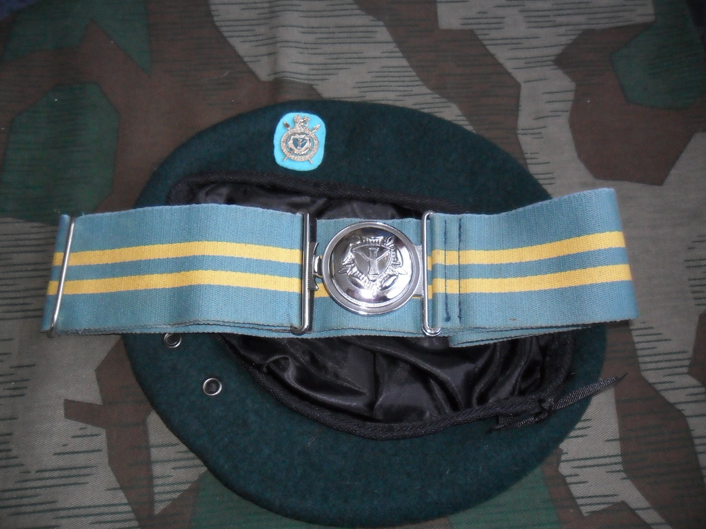 Rhodesian Belts and Berets Inteligence_Corps