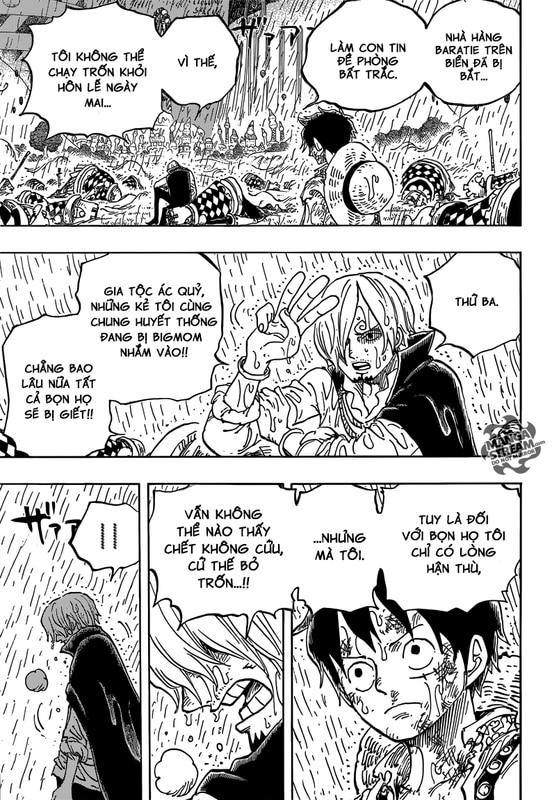 One Piece Chapter 856: Dối Trá. Image