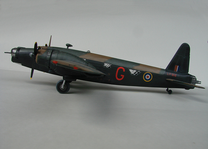 Vickers Wellington Mk.X, Revell, 1/72 DSC04672