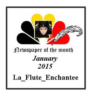 Newspaper of the Month/Year archive. Badge_newspaper_of_the_month_January_2015