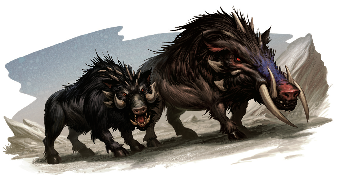 Monstruos de Rango D Boar