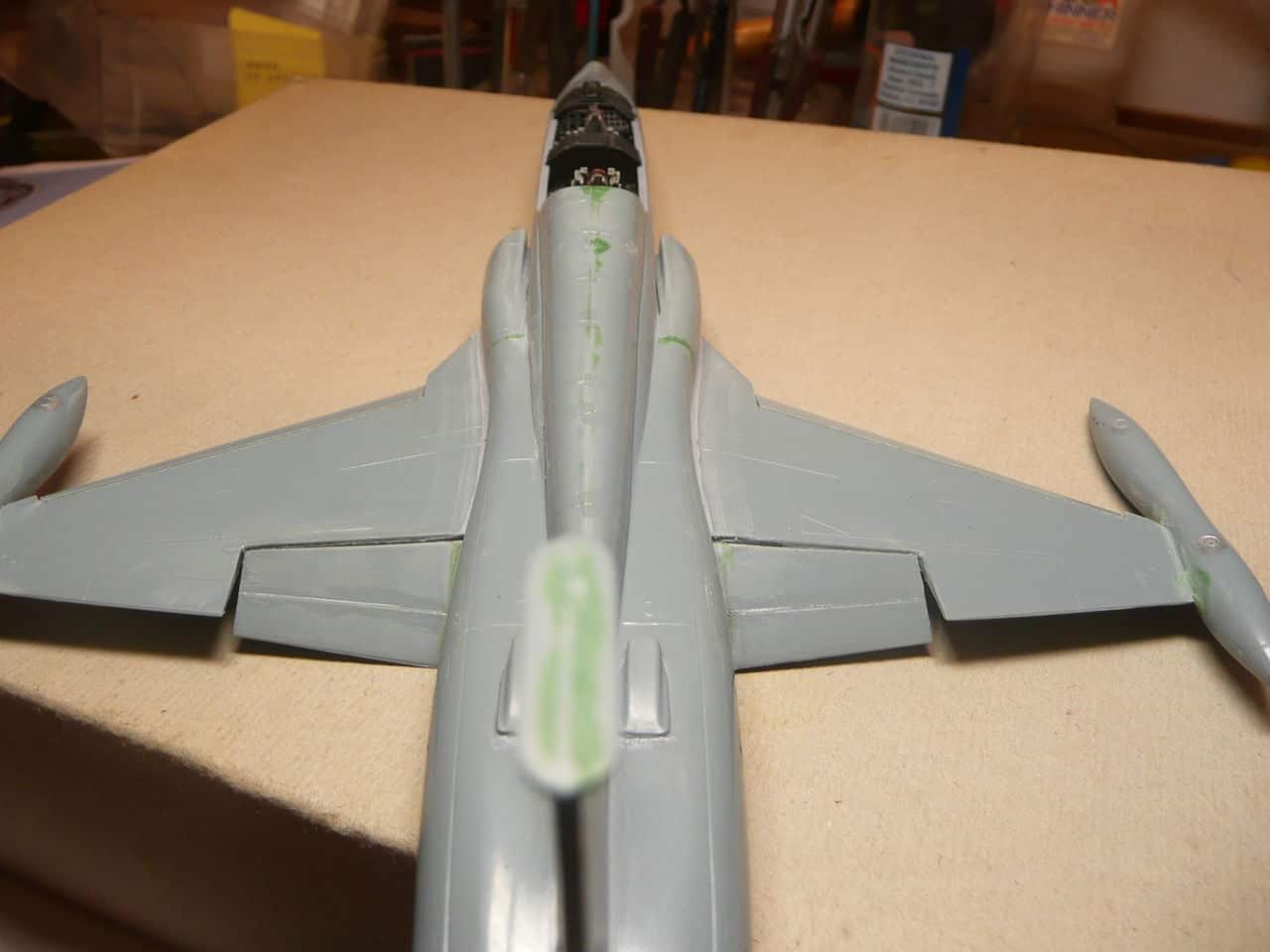 Northrop F-5B 1/48 Classic Airframes P1080008