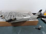 Avion - F-8E FN (P) Crusader, Hasegawa 1/48 DSCN5712
