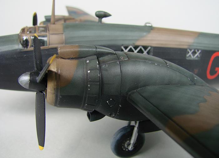 Vickers Wellington Mk.X, Revell, 1/72 DSC04680