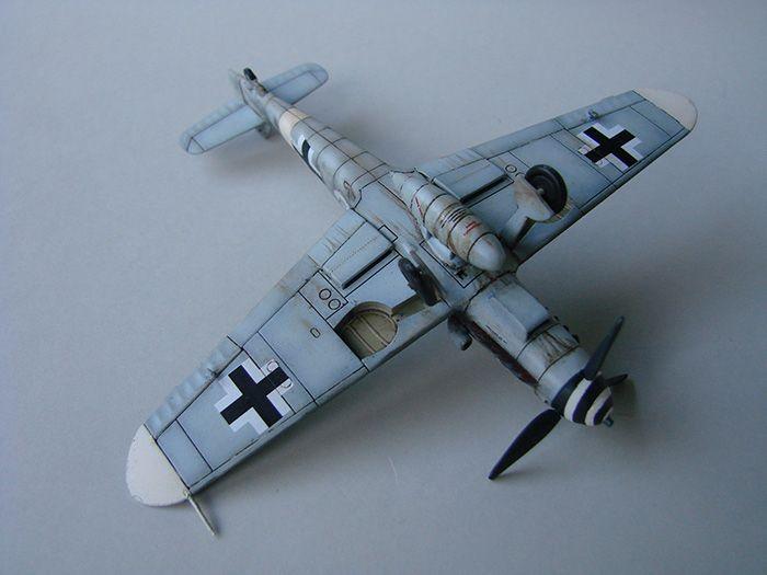 Messerschmitt Bf-109G-6, Airfix, 1/72 DSC05058