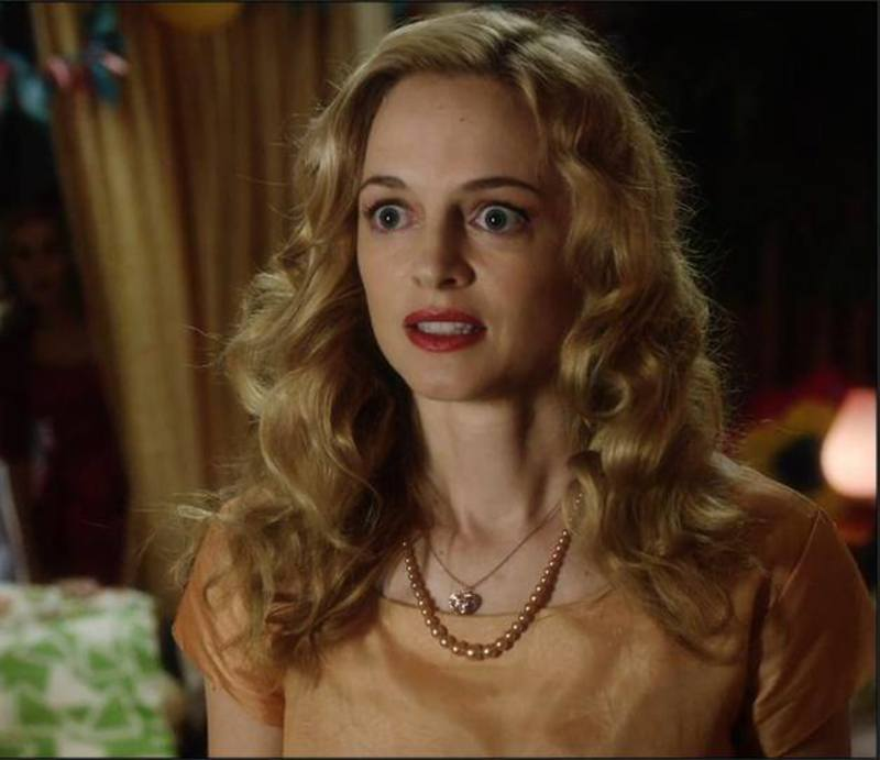 Heather Graham es Corrine Foxworth 10433063_885953631423945_6038014849085405814_n