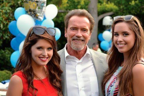 ¿Cual de las hijas de los héroes de acción es de explosiva belleza? Arnold_Schwarzenegger_Pictures_Wife_Son_Daughter