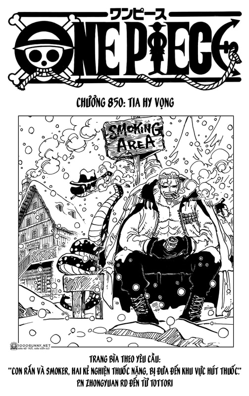 One Piece Chapter 850: Tia sáng Image