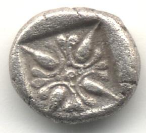 Fracción de estatera de Miletos, Ionia Image