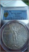 2 Pesos 1921 - 2 Pesos. México. 1921 Image