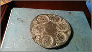 Identificación de Plomo con impresiones de monedas romanas Image
