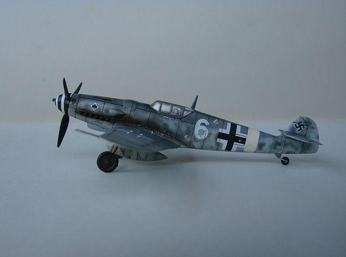 Messerschmitt Bf-109G-6, Airfix, 1/72 DSC05047