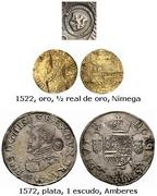 Escudo Felipe Amberes 1573 resello Holanda Resello_Holanda_2
