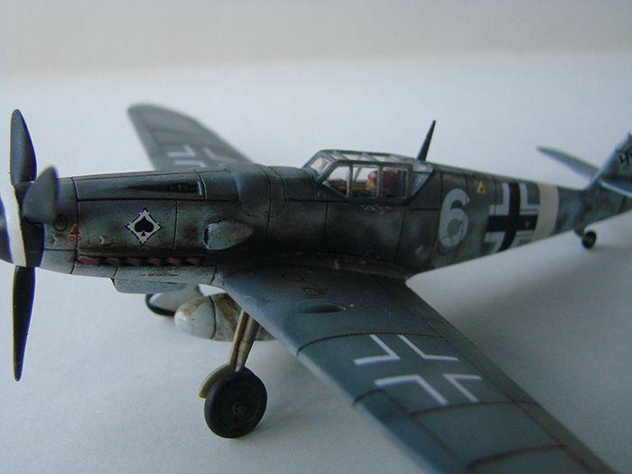 Messerschmitt Bf-109G-6, Airfix, 1/72 DSC05054