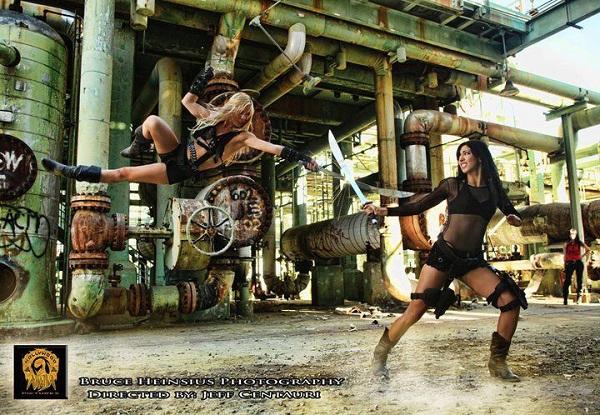 Amy Johnston A_clash_of_blades