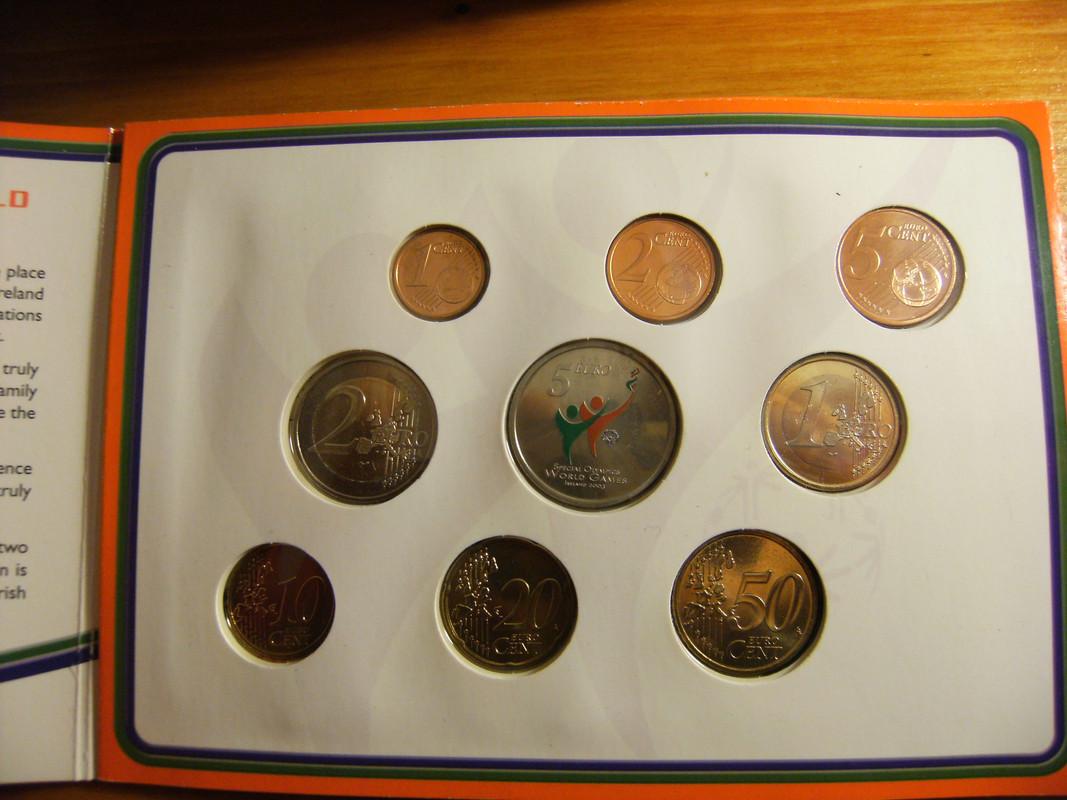 5 euros coloreados Irlanda 2003 DSCF3146