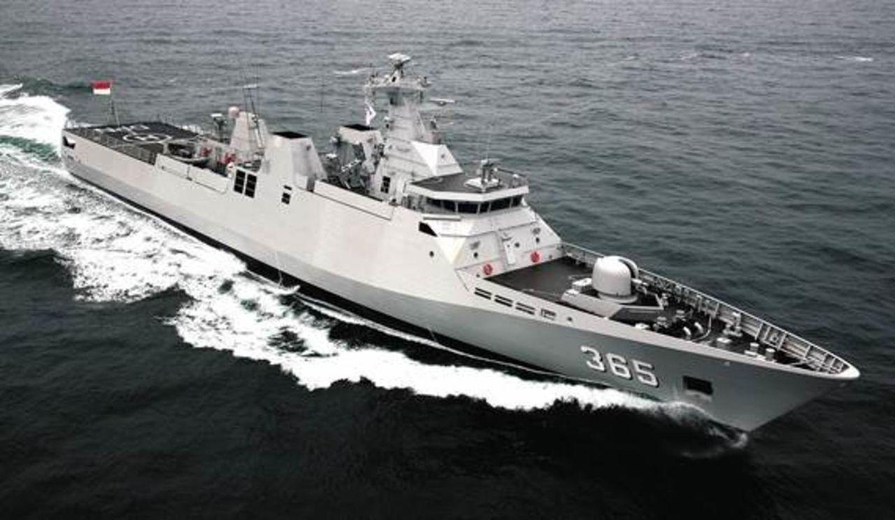 Diseño Damen de 2 generacion para Patrullas Oceanicas y/o Corbetas - Multimodal Corvette_9113_DAMEN2
