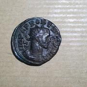 Antoniniano de Probo. MARS VICTOR. Marte marchando a dcha. Ceca Lugdunum. IMG_0477