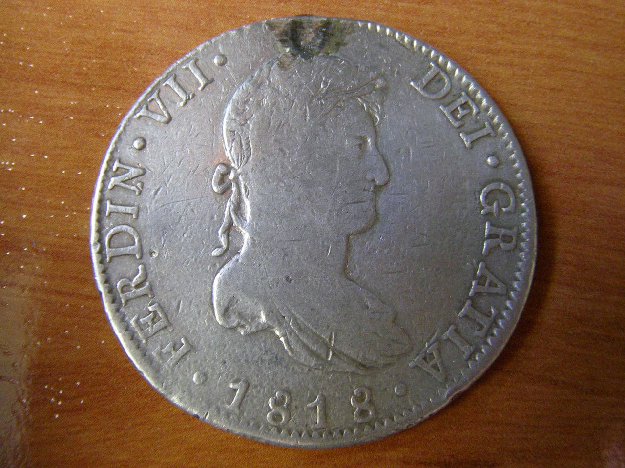 8 Reales. 1818. Fernando VII. - México. P1010073
