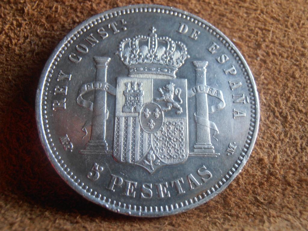 5 Pesetas 1888. Alfonso XIII P9140013