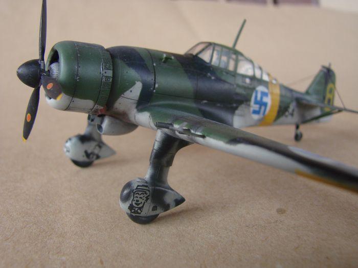 Finski Fokkeri D.XXI, Special Hobby, 1/72 DSC01495