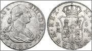 8 reales Carolus IIII  1802  Madrid .FA. Image00522