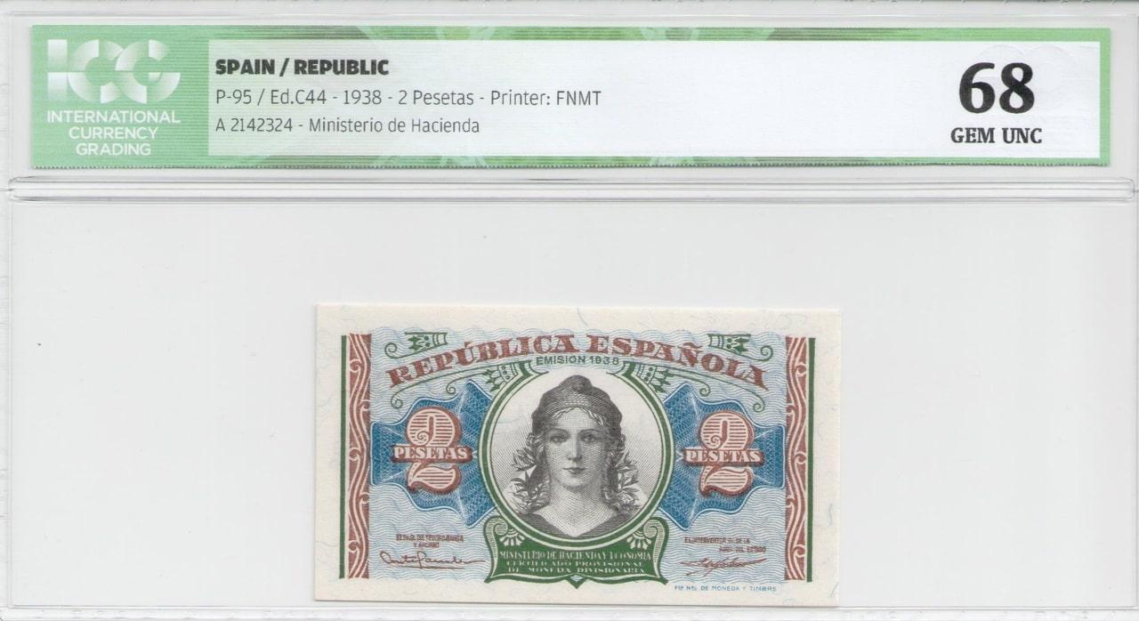 Colección de billetes españoles, sin serie o serie A de Sefcor 2_pta_del_38_anverso