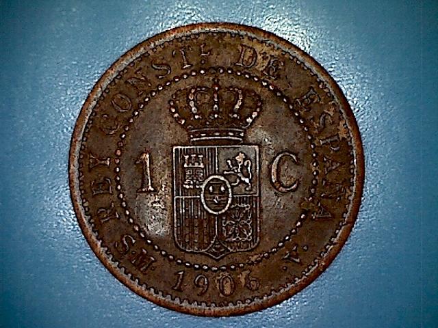 1 Céntimo 1906 ALFONSO XIII SM V. (Resubida de fotos). 1309161833413825862
