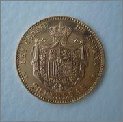 20 Pesetas 1896*19-62 Alfonso XIII  Image
