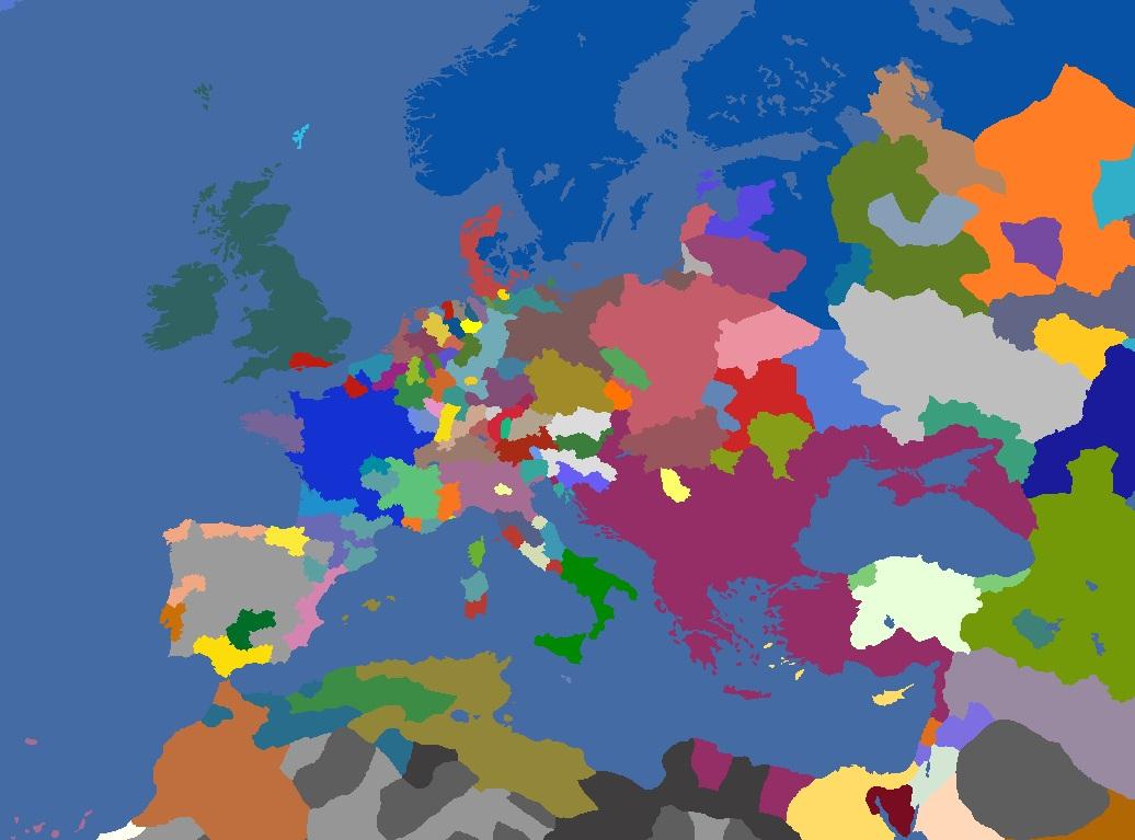 "MP-""Europa Divisa"" 1605"
