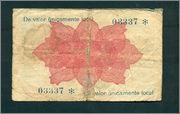 25 Céntimos Madrigueras, 1937 (sucio) Madrigueras