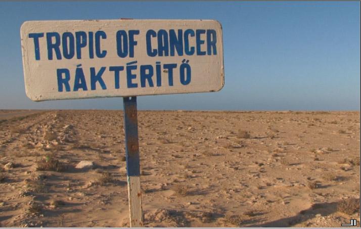 Aventura Africana con una Tango 250 Mas de 15000 Km Tropicofcancer