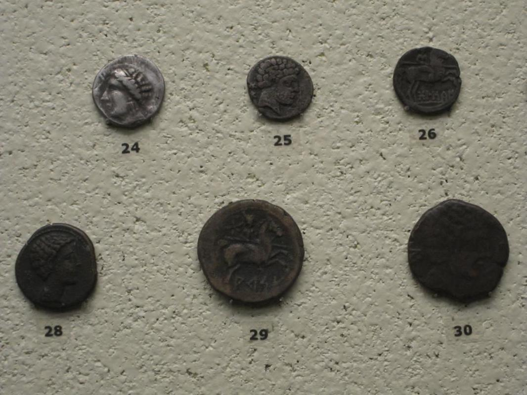 Sección numismática museo de Cádiz Cadiz11