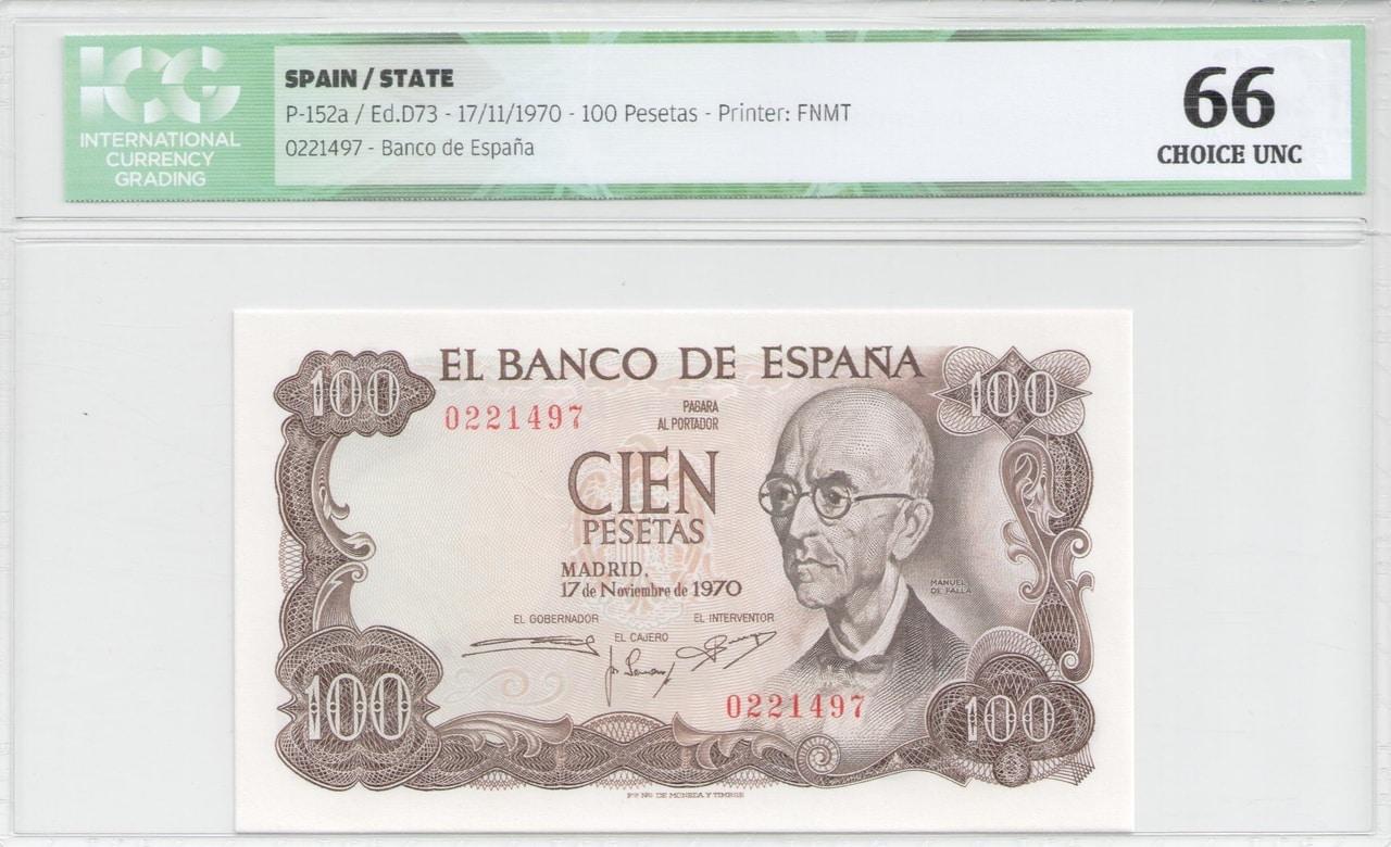 Colección de billetes españoles, sin serie o serie A de Sefcor Falla_anverso