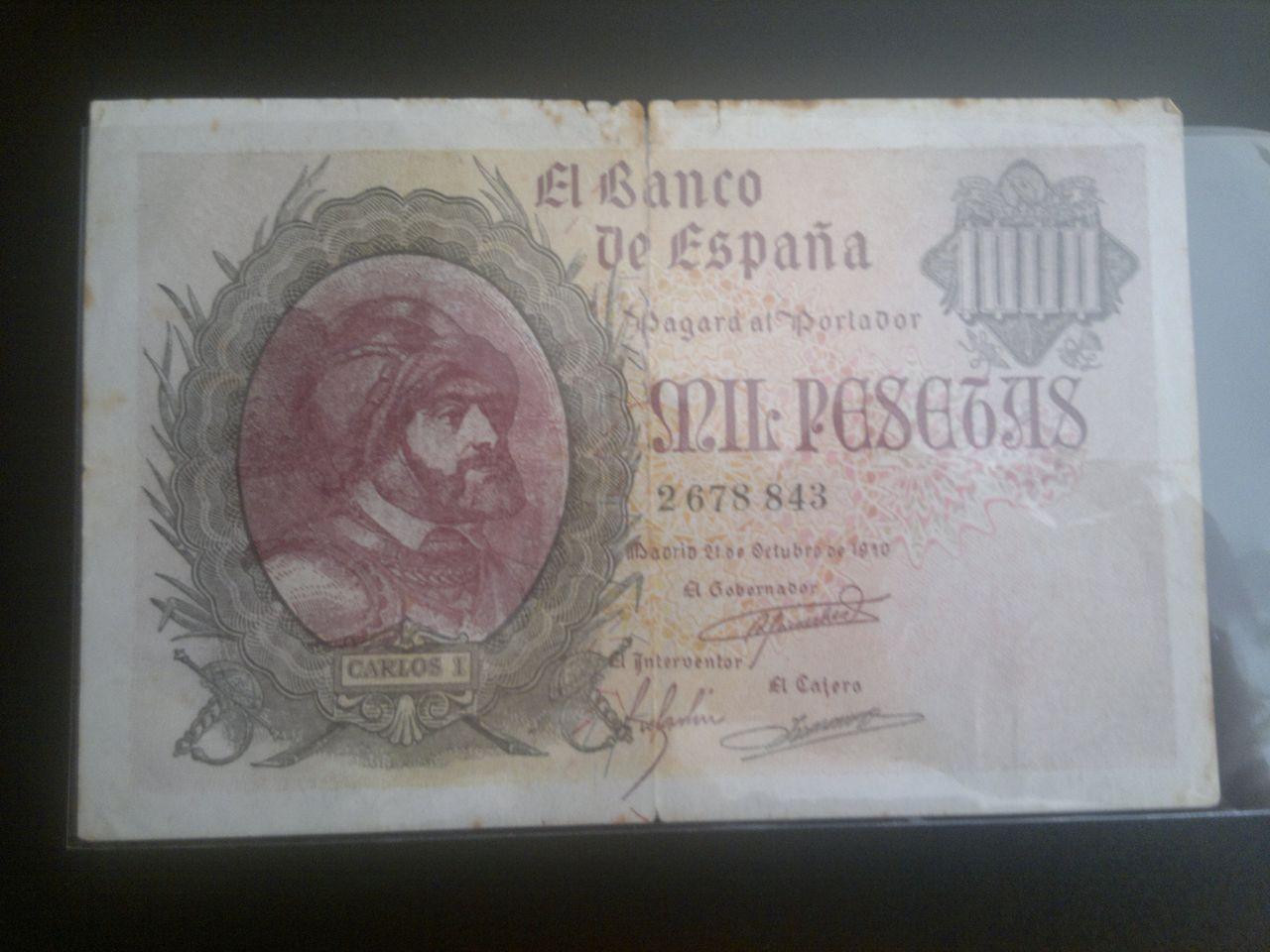 1000 Pesetas de 1940 (Carlos I). Falso de Época. 2013_04_07_614