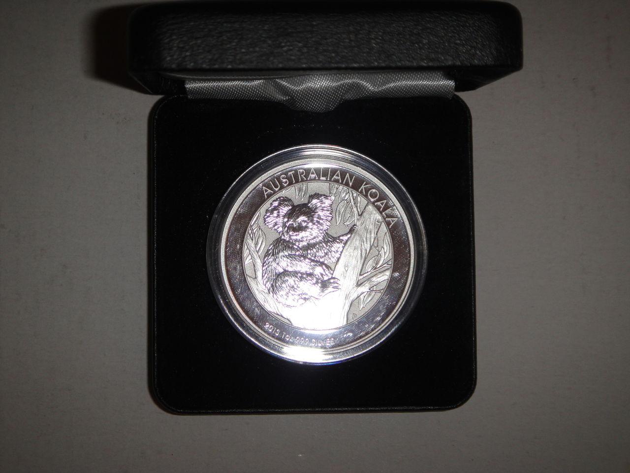 1 dolar Australian koala 2013 DSC02755